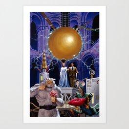 Bride of the Castle Art Print