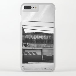 Monochrome Greenpoint Clear iPhone Case