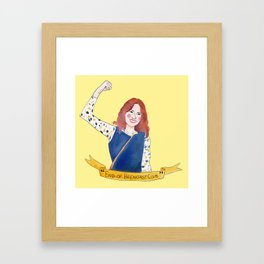 Unbreakable Kimmy Schmidt Framed Art Print