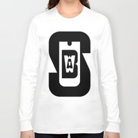 subway Long Sleeve T-shirts featuring Subway by David Short