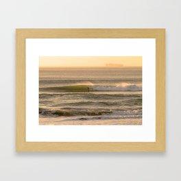 Cali Coast Surf Framed Art Print
