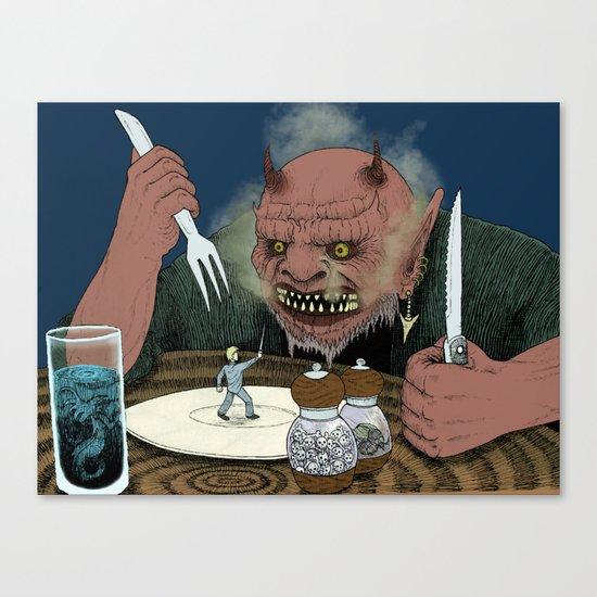 Appetizer Canvas Print