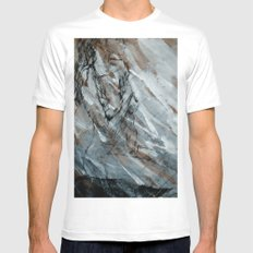 When I Think About You  MEDIUM White Mens Fitted Tee