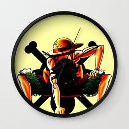 Luffy The Pirates Amazing Boy Wall Clock