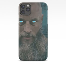 Ragnar Lothbrok Painting, King of the Northmen iPhone Case
