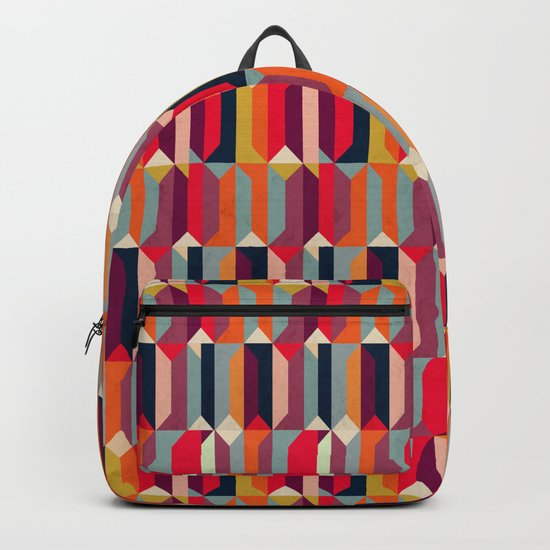 Geometric Icelandic Colors Backpack
