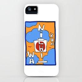 Kon Nichi Wa iPhone Case