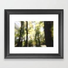 Embrace The Blur Framed Art Print