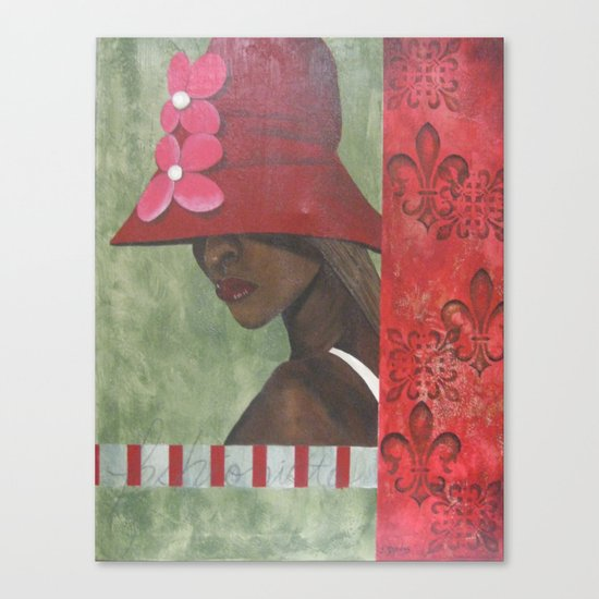 Fashionista Canvas Print