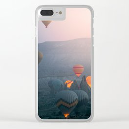 Balloons over Cappadocia Clear iPhone Case