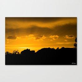 Moab Sunset Canvas Print