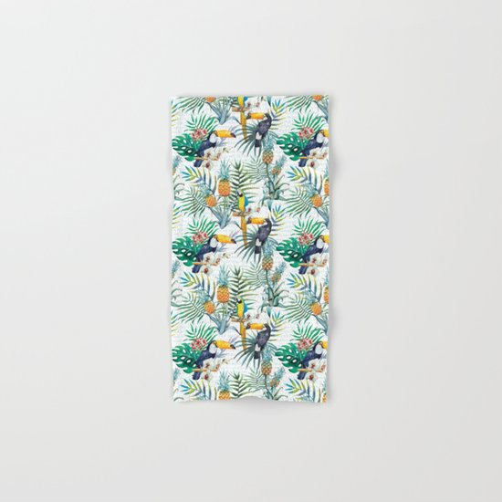 Tropical Summer #10 Hand & Bath Towel