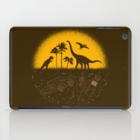 pocket fuel iPad Cases featuring Fossil Fuel by Graham Dobson