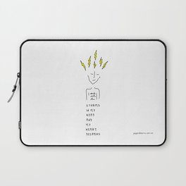 Storms In My Head Laptop Sleeve