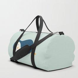 Little Blue Duffle Bag