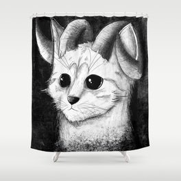 MAH KITTEH! Shower Curtain