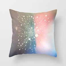 Connected Stars Throw Pillow