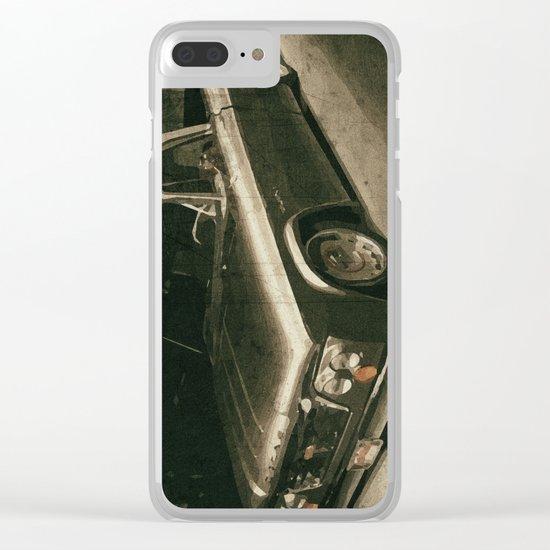 Vintage Car, Dodge Clear iPhone Case