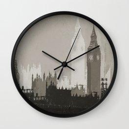 The Big Smoke Wall Clock