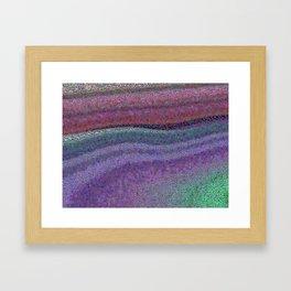 Broken Colors Framed Art Print