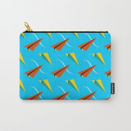 Papper Plane Carry-All Pouch