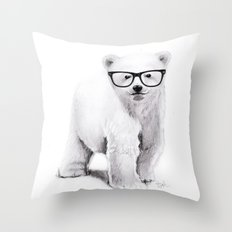 Polar Disorder Throw Pillow