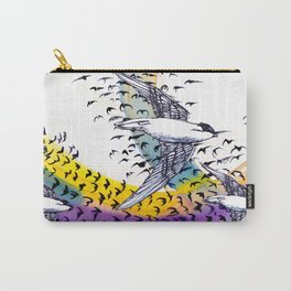 Spinning Swiftly Carry-All Pouch