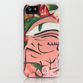 Bciv - Watch Me Pull A Rabbit Out Of My Head iPhone Case