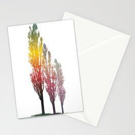 Magic poplar trees Stationery Cards
