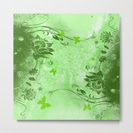 Herbal Metal Print