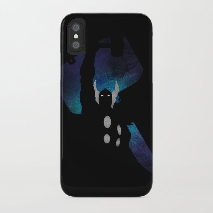 SuperHeroes Shadows : Thor iPhone Case