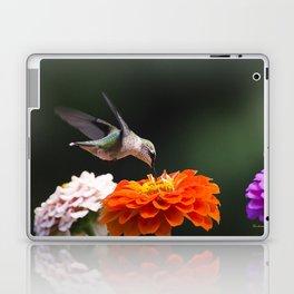Hummingbird and Flowers Laptop & iPad Skin