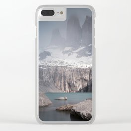 Three Towers, Chile Clear iPhone Case