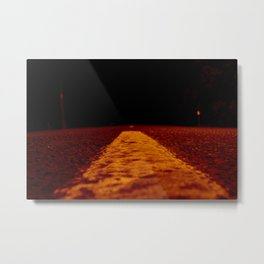 Red Road Metal Print