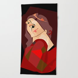 Marguerite Beach Towel
