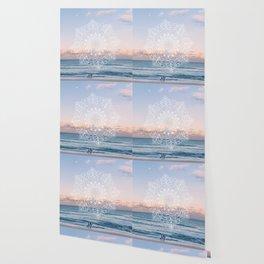 Twilight surf mandala Wallpaper