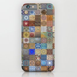 Persian Art Montage iPhone Case