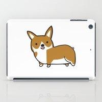 corgi iPad Cases featuring Corgi by Chloe Meister