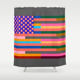 Flag of Some Other States of America Shower Curtain