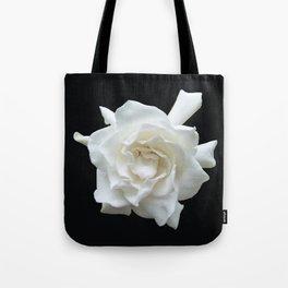 Gardenia on Black DPG150524 Tote Bag