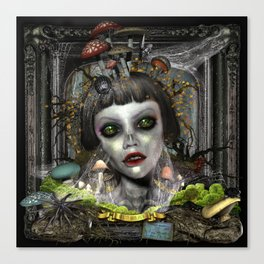 "Renata ""Beauty Born Again"" Canvas Print"
