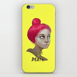 date or death iPhone Skin