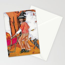 Pumkin Picking Stationery Cards