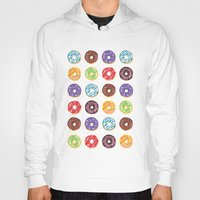 doughnut Hoodies featuring Doughnut delights by Phibbit