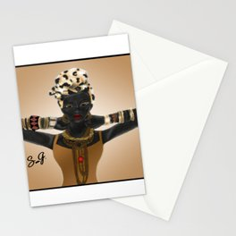 Nubian Queen Stationery Cards