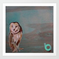 the who Art Prints featuring Who??? by C.BENNETT
