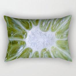 LIME MACRO Rectangular Pillow