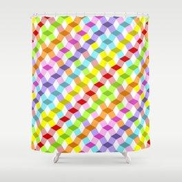 Tempus Vernum Geometrica Shower Curtain