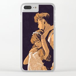 Romeo and Juliet Clear iPhone Case