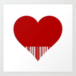 lovecode Art Print